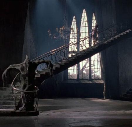 L'habitat dans les films de Tim Burton